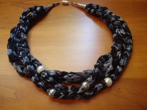 Twists of Ribbon Necklace